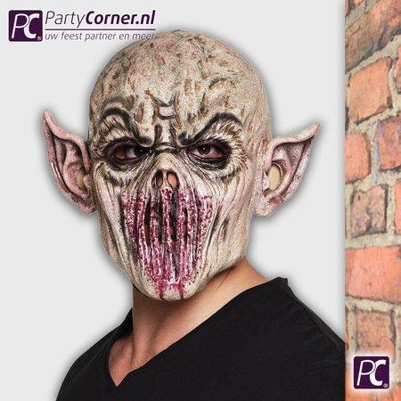 Latex Alien masker