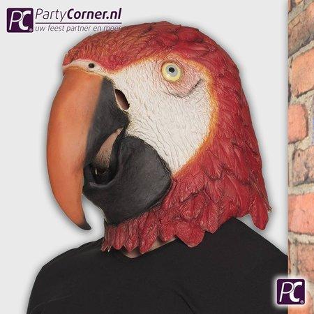 Latex masker Papagaai kopen