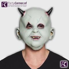 Latex kinder duivels masker