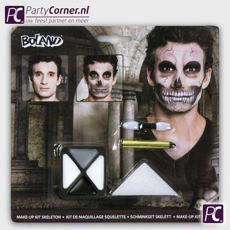 Skelet make up set