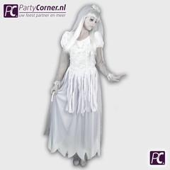 Horror bruid jurk ghost groom