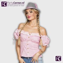 Tiroler blouse dames