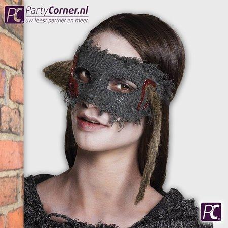 Halloween oogmasker rat kopen
