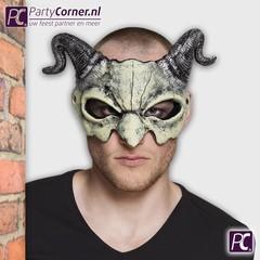 Goedkope half masker Duivel