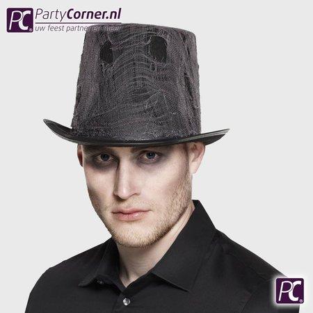Hoge hoed grafdelver