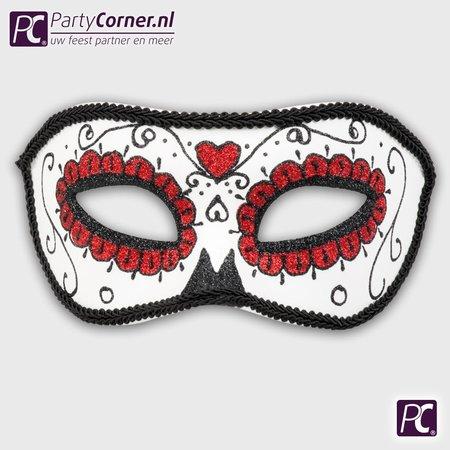 Mexicaans masker zwart kopen