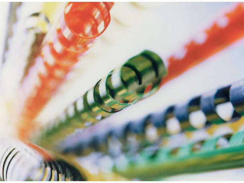 Albyco Plastic bindringen A4 21-rings 38 mm