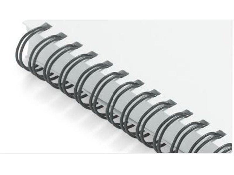 "Albyco Wire-o 19,1 mm draadbindruggen 3/4"", tot 165 vel"