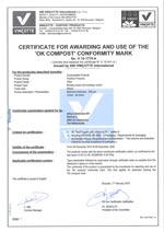 Bekijk hier het Vincotte certificaat!