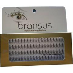 BRANSUS Eyelashes seperate Medium Brown