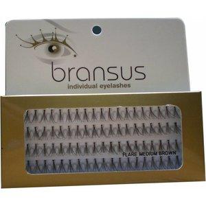 BRANSUS Eyelashes pezzi Medium Brown