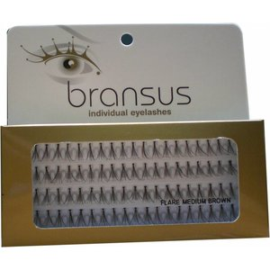BRANSUS Wimperverlenging Flairs Medium Brown, nepwimpers