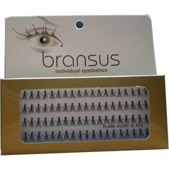 BRANSUS Eyelashes seperate Short Black