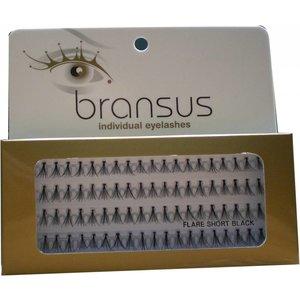 BRANSUS Eyelashes seperate peaces Short Black