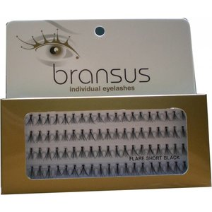 BRANSUS Wimperverlenging Flairs Short Black, nepwimpers
