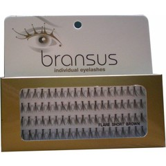BRANSUS Eyelashes pezzi Short Brown