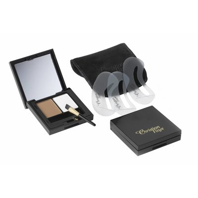 CHRISTIAN FAYE Augenbrauenpuder DUO Highlighter Medium