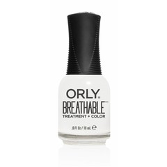 ORLY Nail Polish BREATHABLES White Tips