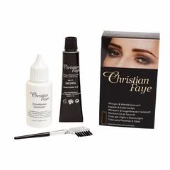 CHRISTIAN FAYE Eyelash and Eyebrow Dye BrownBlack