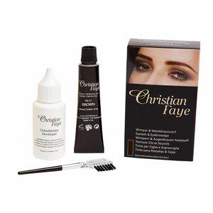CHRISTIAN FAYE Augenbrauen und Wimpernfarbe - BrownBlack