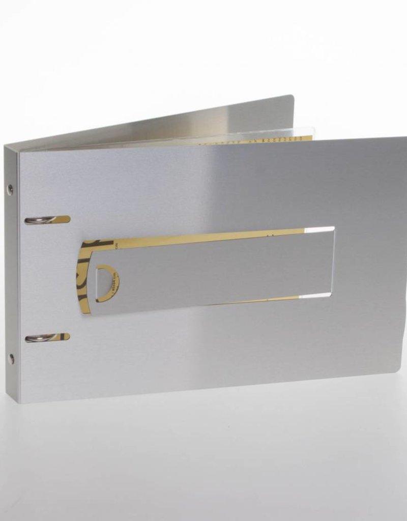 RibbleBox Ringband flipover ALU, staand geschikt voor showtasjes
