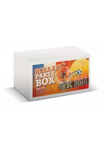 Oranje partybox