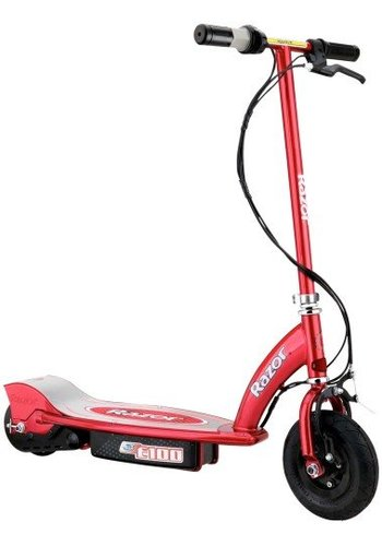 RAZOR Step Razor electric: E100 rood (13181160)