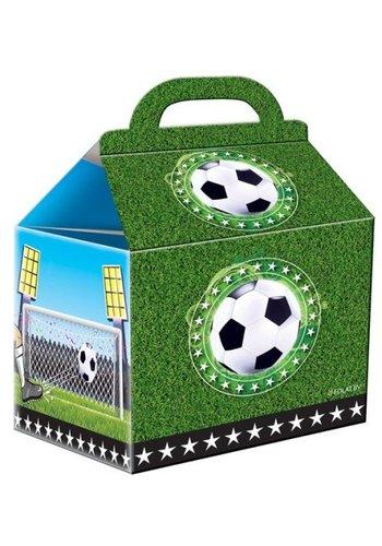 Feestzakjes soccer party