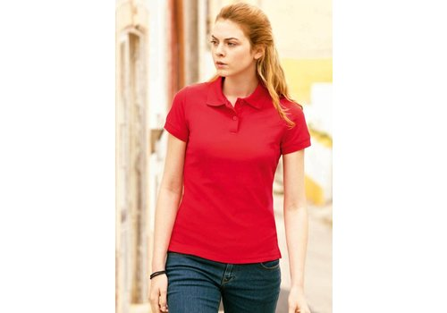Fruit of the Loom Dames poloshirt
