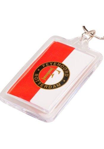 Feyenoord Sleutelhanger rood/wit