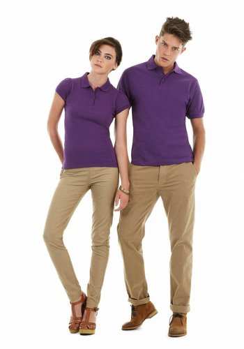 B & C Collection polo shirt heren
