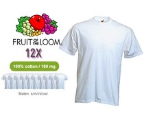 Fruit of the Loom T -shirts per 12 stuks