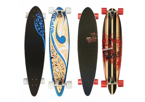 "Nijdam Longboard 42"" pintail street waves"