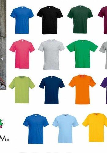Fruit of the Loom T shirts in diverse kleuren