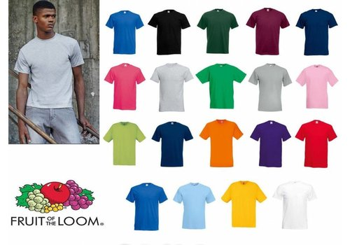 Fruit of the Loom T shirts in diverse kleuren