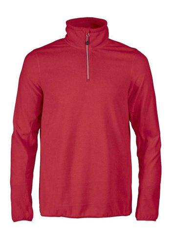 Red Flag (Printer) Sweatshirt Microfleece half zip