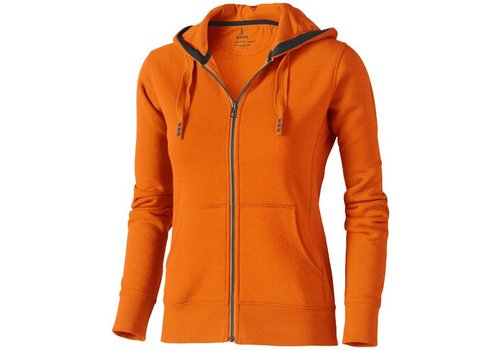 Elevate Arora Full Zip Hooded Sweater dames model