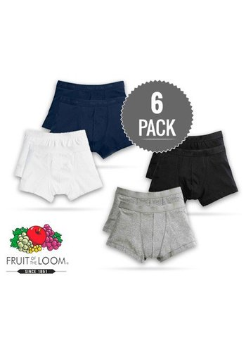 Fruit of the Loom Boxershorts 6 pack