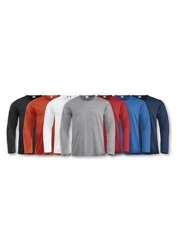 Clique Fashion T shirt lange mouw