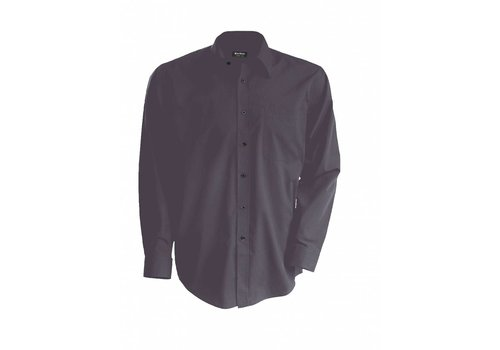 Kariban Heren poplin blouse