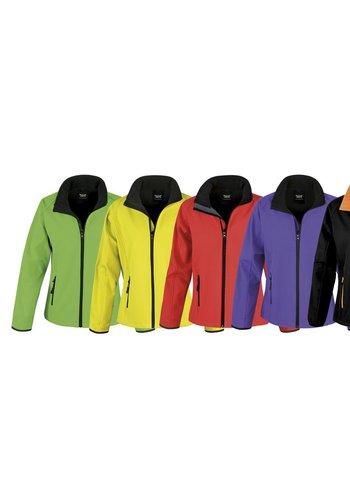Result Core Softshell jas in diverse kleuren