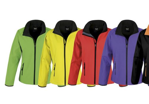 Result Core Softshell jas in diverse kleuren