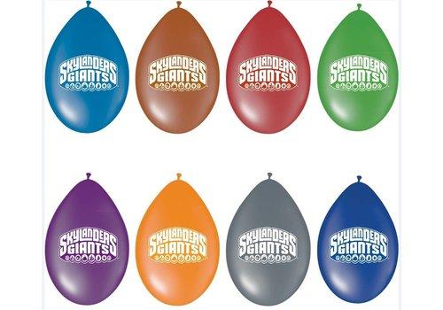 Ballonnen Skylanders 8 stuks
