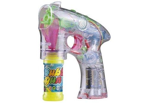 Bellenblaas pistool Bubblez: 45 ml (39053)
