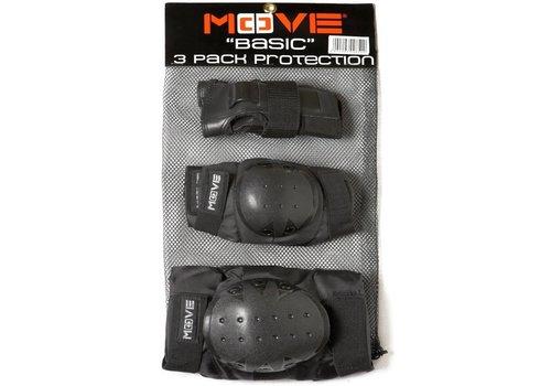 Beschermset Move senior zwart (2600005)
