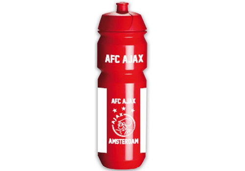 Ajax  Bidon ajax wit/rood/wit AFC: 750 ml