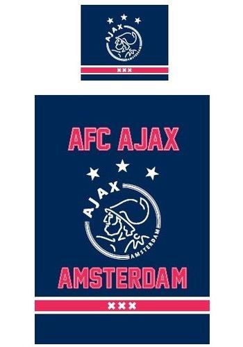 AJAX  Dekbed ajax blauw: 140x200/60x70 cm