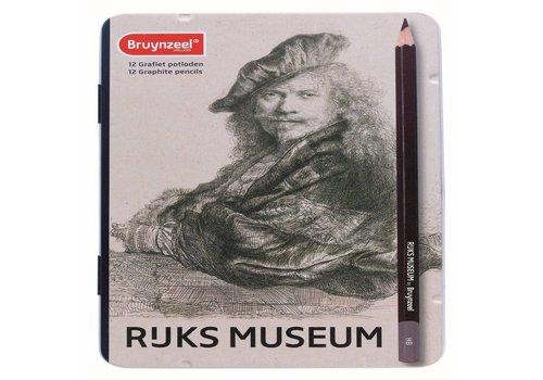 Grafietpotloden Bruynzeel Grote Meesters: 12 stuks (5702M12)