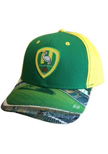 ADO den Haag Cap ado senior geel/groen stadion