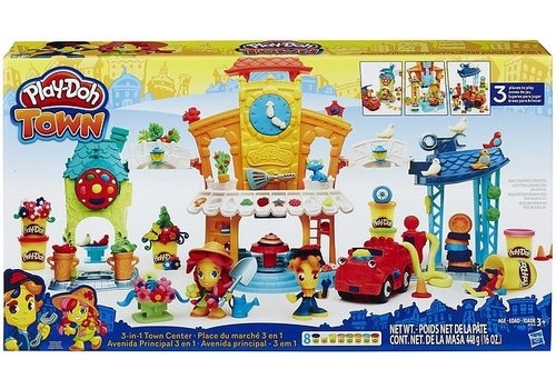 Fantasy Play-Doh Town: Centrum 448 gram (B5868)